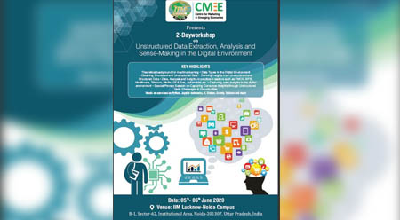 Workshop on Unstructured Data Extraction, Analysis and Sense-Making in the Digital Environment