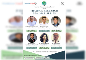 FINANCE RESEARCH SEMINAR SERIES