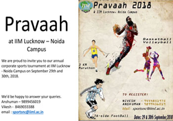 Pravaah (at Noida Campus)
