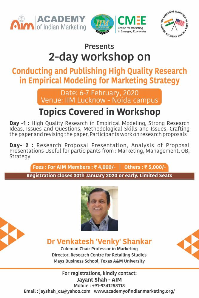 Conducting and Publishing High-Quality Research in Empirical Modeling for Marketing Strategy