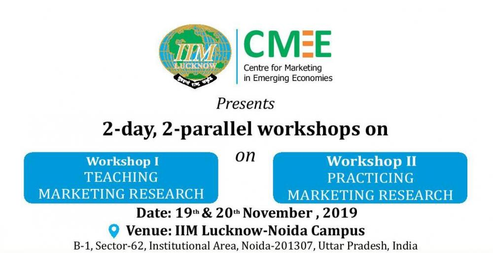 Workshops on Teaching/Practicing Marketing Research